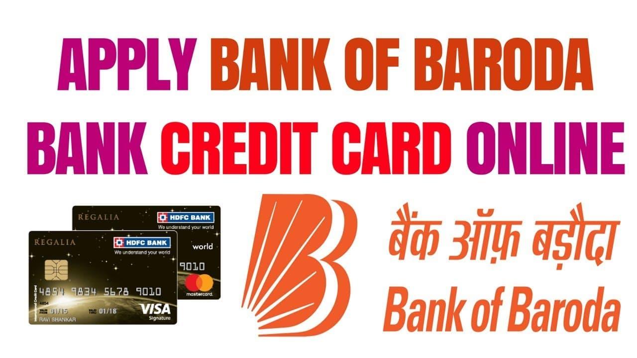 Bank of Baroda Credit Card Status