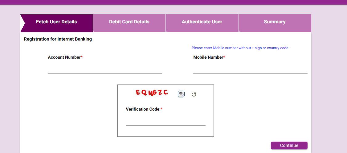 Karnataka Bank Net Banking Register