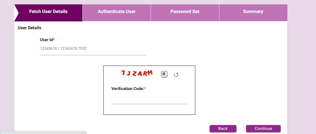 Karnataka Bank Net Banking Reset password