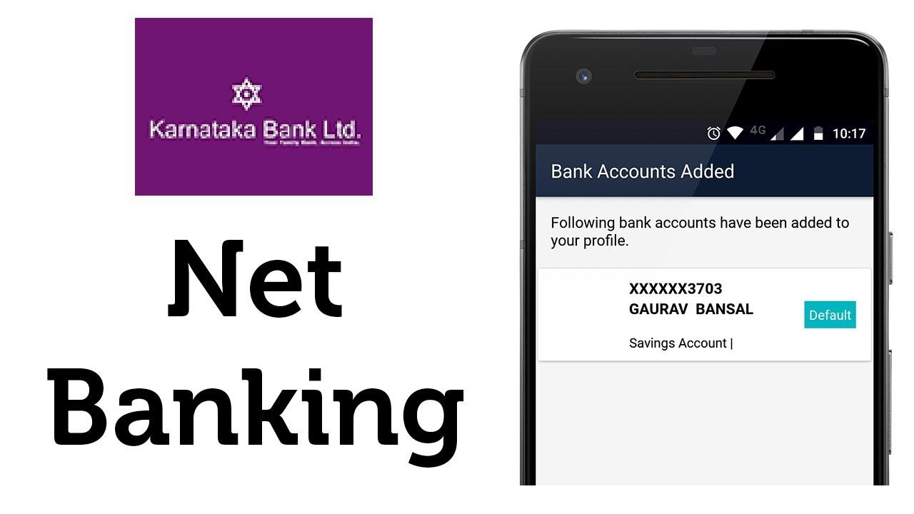 Karnataka Bank Net Banking