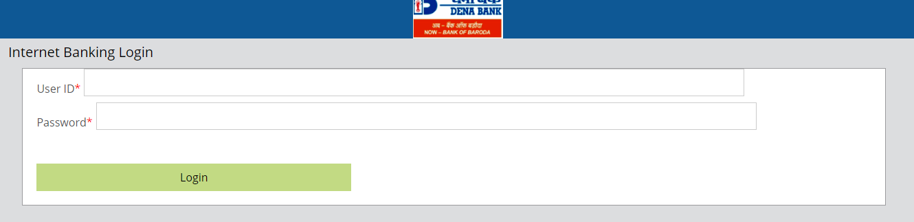 DENA Bank Login