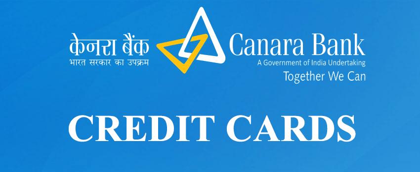 Canara Bank credit cards