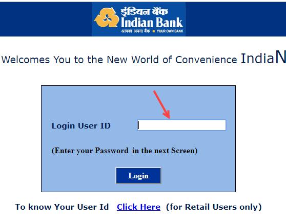 Indian Bank CIF number